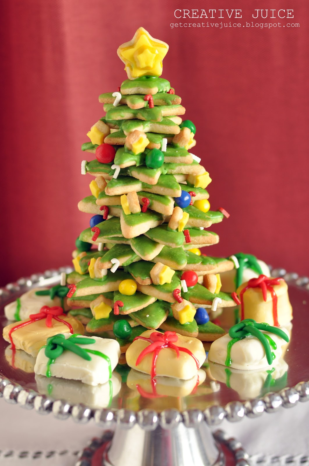 TUTORIAL} 3D cookie christmas tree tutorial - Creative Juice