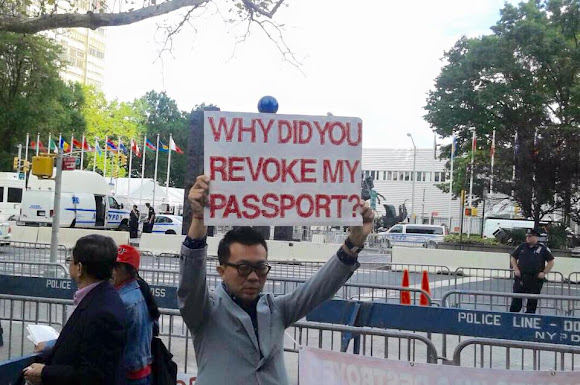 Protesting Prayuth Chan-ocha at the UN, New York on 26 September 2015 Part 3