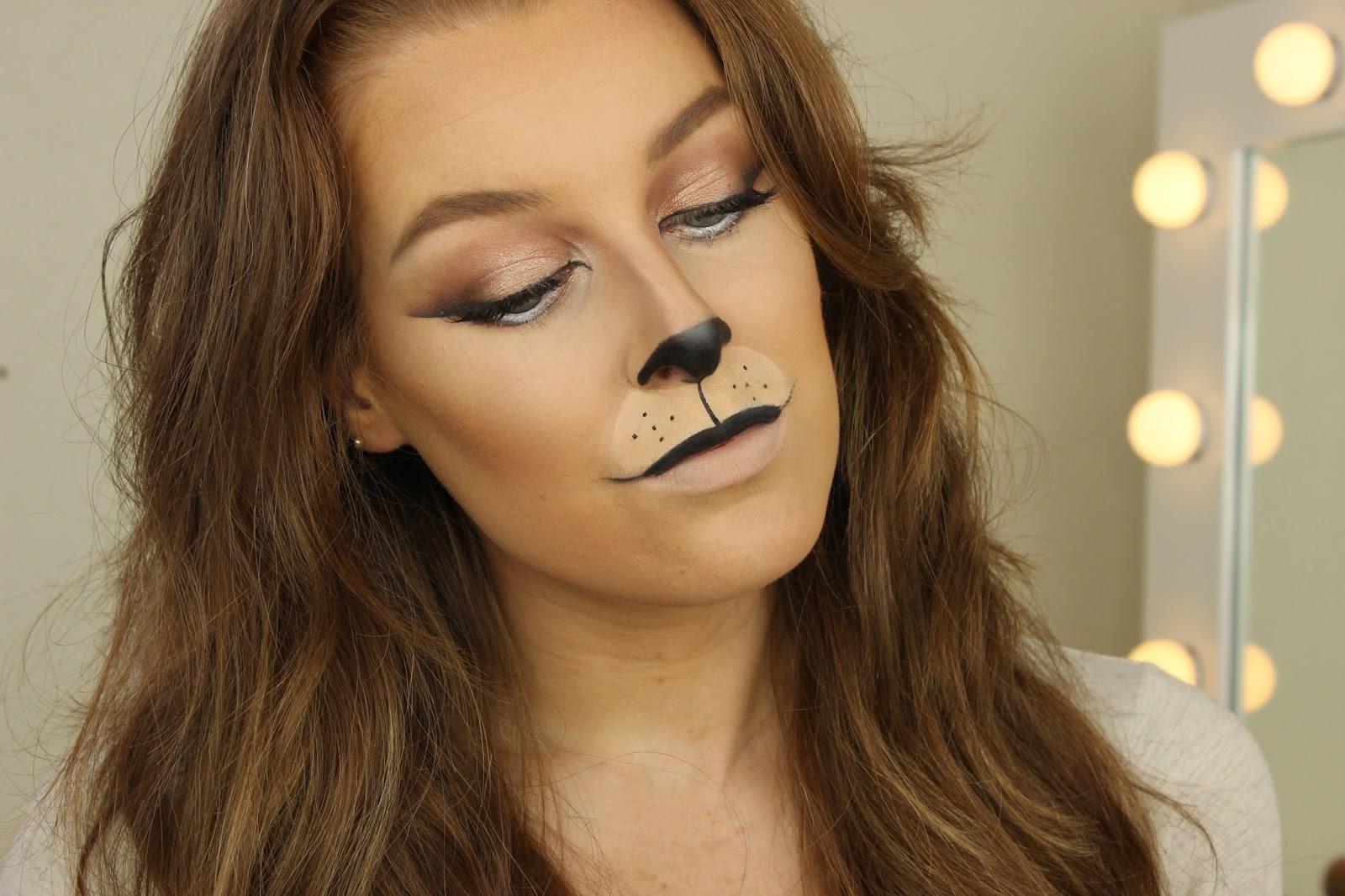 Halloween Week : Lion Makeup | Zoe Mountford