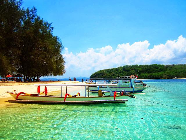 Pulau Romantis Gili Nanggu di Lombok Selatan