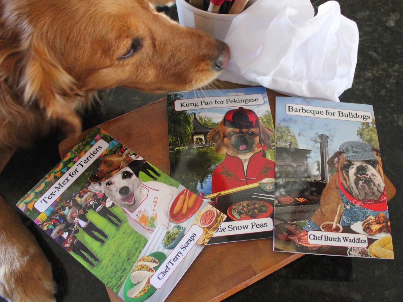 dog cookbooks and recipes