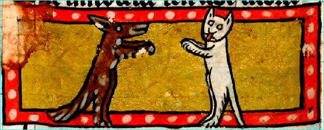 resume renart et tibert le chat