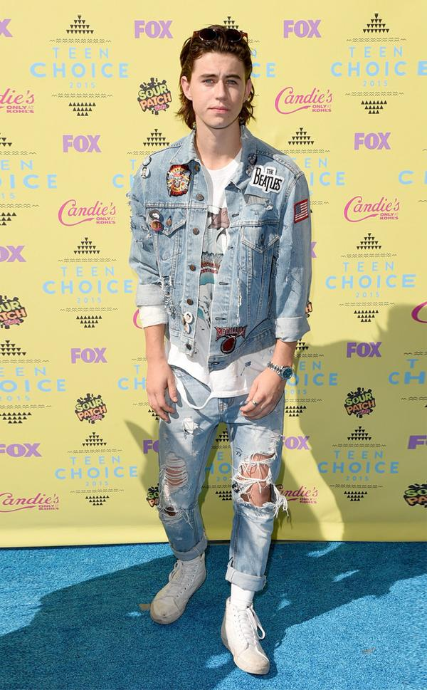 Nash Grier Teen choice awards 2015