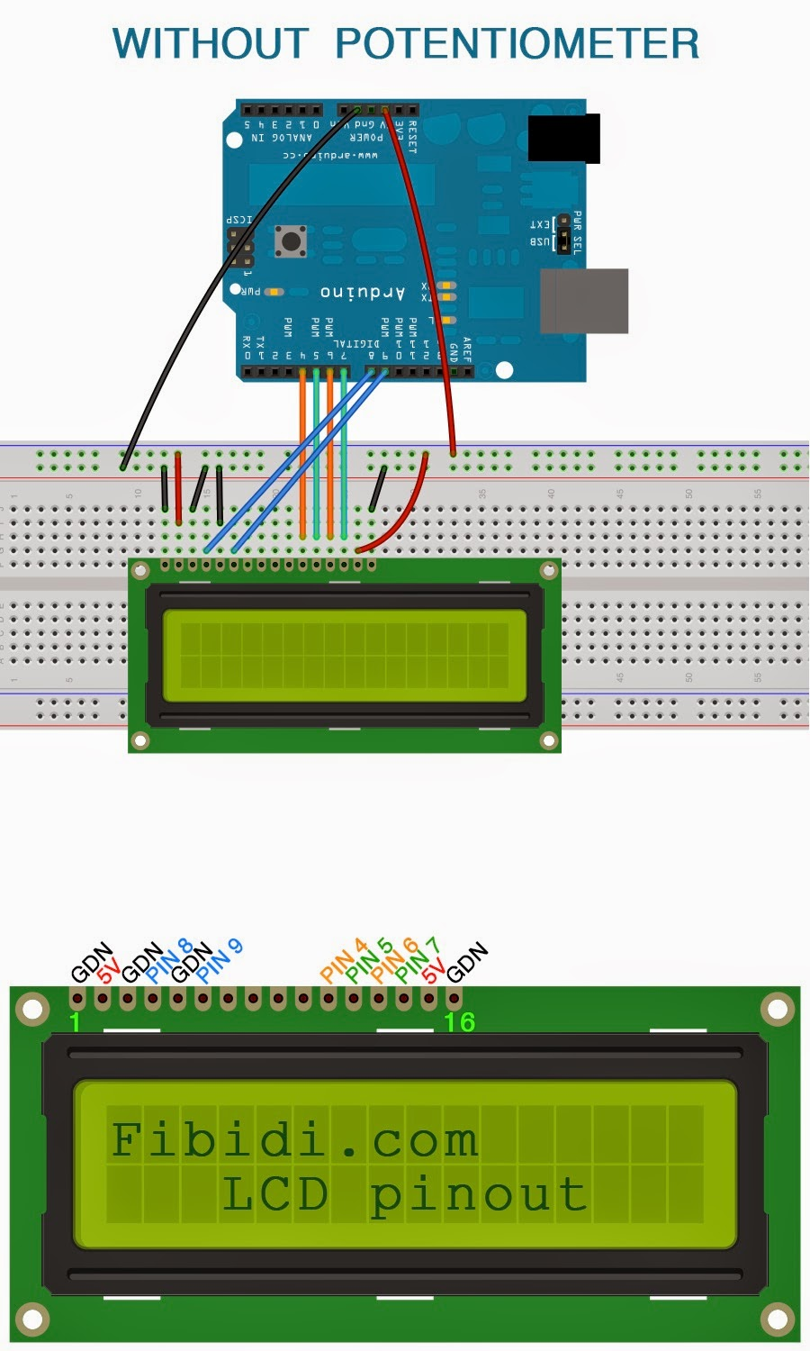 Build Your Own Arduino Circuit on a Breadboard