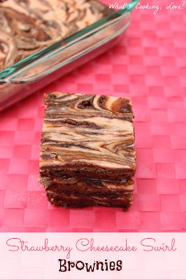 http://whatscookinglove.com/2013/03/strawberry-cheesecake-swirl-brownies/