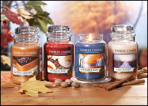 Yankee Candle Fall 2013