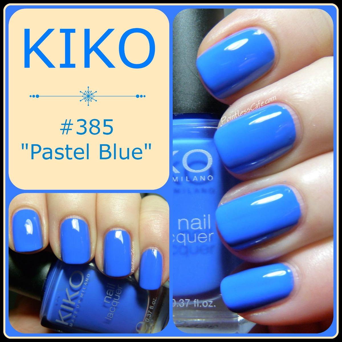 """Kiko 385 """"Pastel Blue"""""""