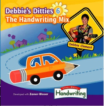 Debbie Clement, Handwriting songs, Handwriting music, Debbie's Ditties, early childhood music