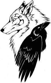 Wolf Tribal Tattoos Designs 04