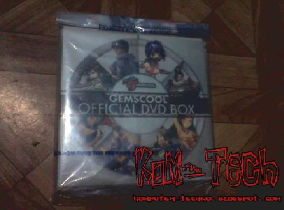 Mendapatkan DVD Gemscool Gratis