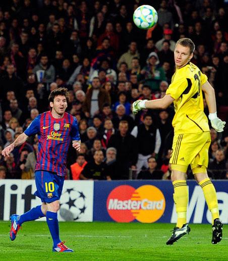 5 goles de Messi