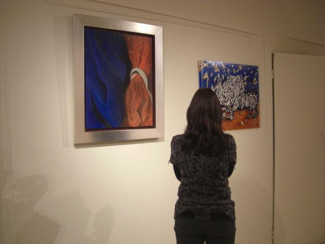 The works of Célia Alves and Teresa Martins