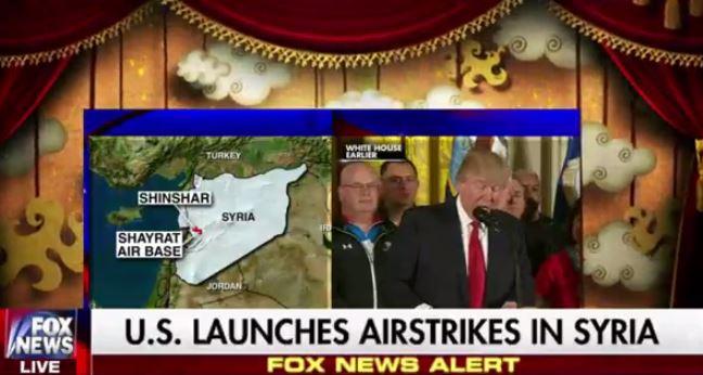 EKTAKTO: Boμβαρδίζουν με Tomahawk την Συρία οι ΗΠΑ-Πολεμικό διάγγελμα Ν.Τραμπ που πουλήθηκε και αυτός! [Βίντεο]