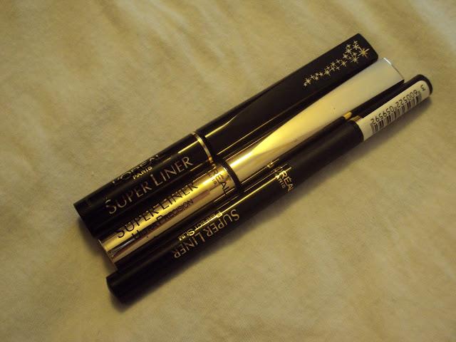 natalia 39 s makeup corner uk beauty blog eyeliner l 39 oreal super liner. Black Bedroom Furniture Sets. Home Design Ideas