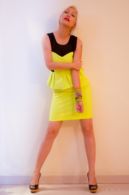 Dimpy Kapur Neon Bysi  Autumn Winter 2013 Trends Nine West shoes