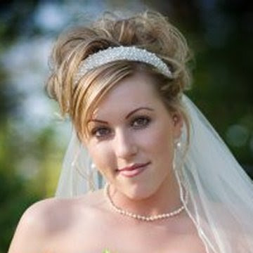 Wedding Hairstyles For Long Hiar With Veil Half Up 2013 For Short Hair