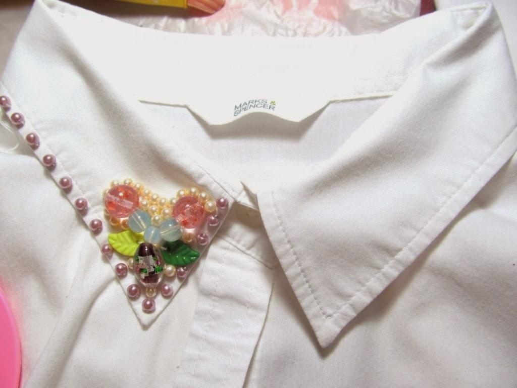 Вышивка на рубашках своими руками