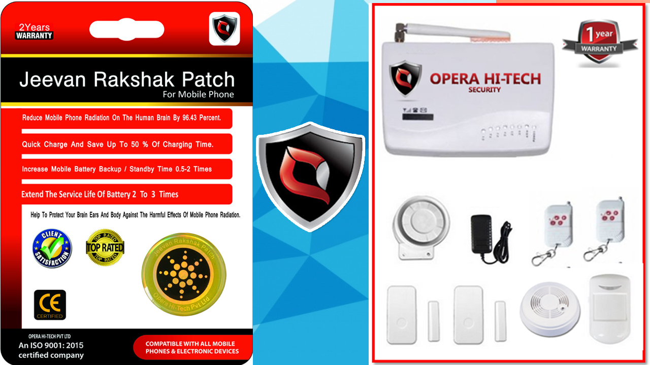 Jeevan Rakshak Patch And Top Protection System