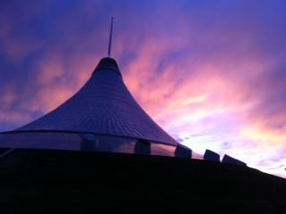 Khan Shatyr Sunset