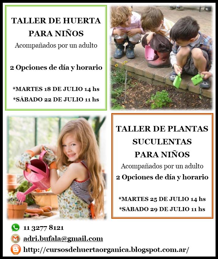 TALLER DE PLANTAS SUCULENTAS PARA NIÑOS