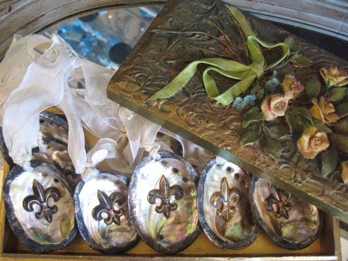 Abalone ornaments by The Pickled Hutch