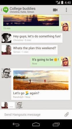 Google Hangouts Terbaru