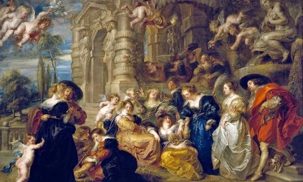 Rubens - Le jardin d'amour,1633-34.