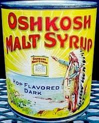 Prohibition Era Malt Extract Produced by the Oshkosh Brewing Company