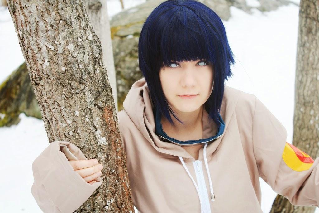Cosplay Hinata Hyuga kecil