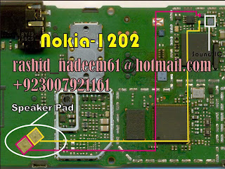 nokia 1202 earpiece not working solution