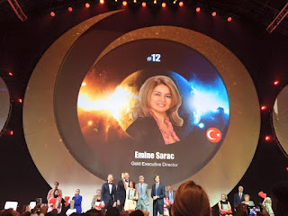 Global Top 15 Oriflame #12 Turkey Emine Sarac (Gold Executive Director)