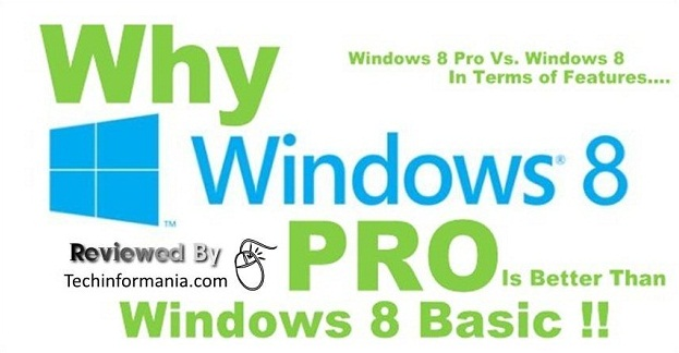 windows 8 pro,windows 8 vs. windows 8 pro,windows 8 pro features
