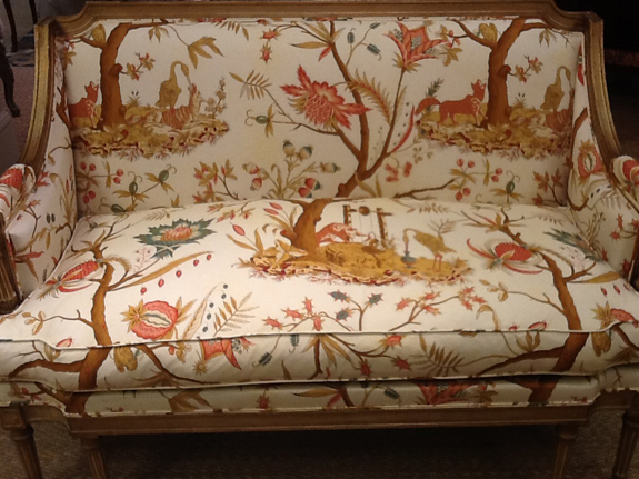 It Had THE Most Beautiful Fabric Upholstery