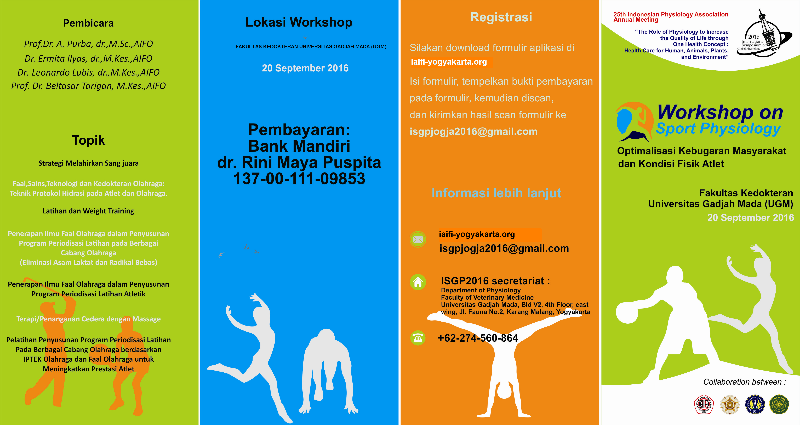Workshop on Sport Physiology