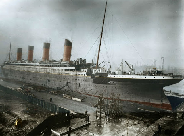 Titanic color fotos