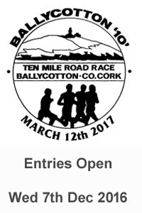 2017 Ballycotton 10 mile road race results & photos