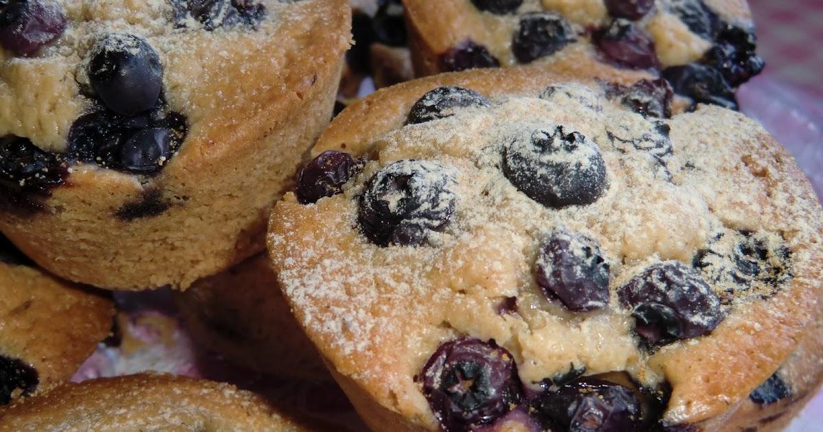 lchf muffins blåbär
