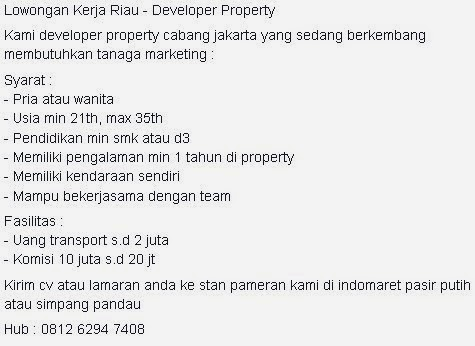Developer Property
