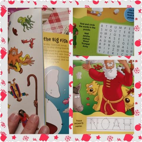 Sticker activity book sample set 2