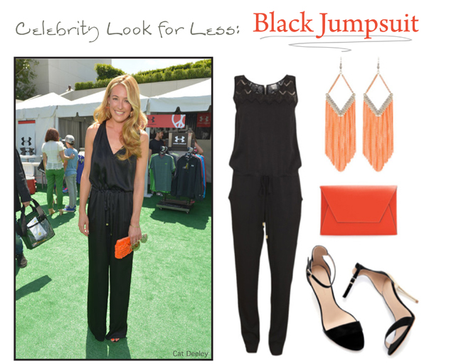 Cat Deeley Black Jumpsuit