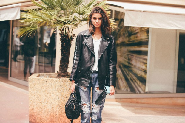 Taylor Hill in Cannes