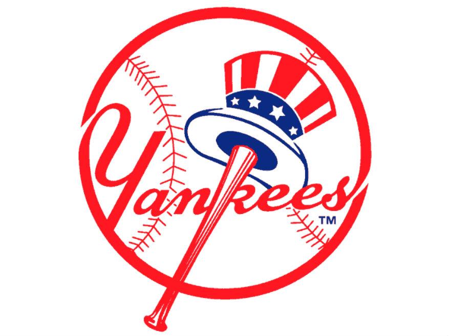 Mlb new york yankees logo vector