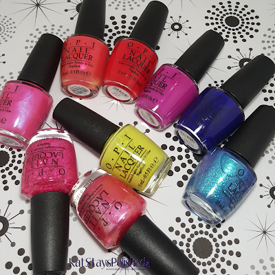 OPI Brights and Neons | Kat Stays Polished