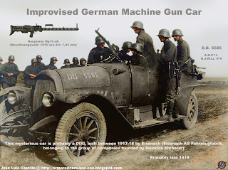 machine gun car