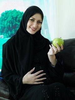 wanita hamil puasa