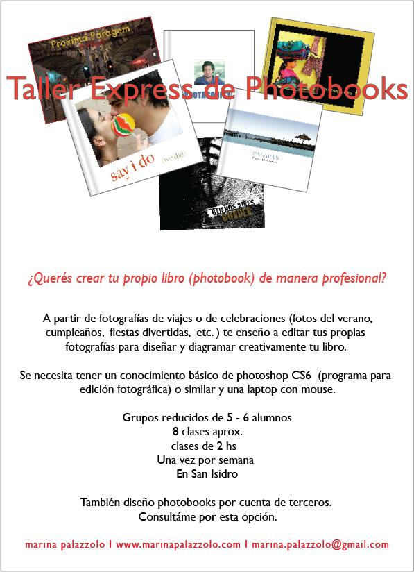 Taller Express de Photobooks