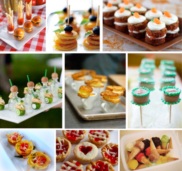 The Wedding Insiders 2013 Wedding Food Trend Mini Bites