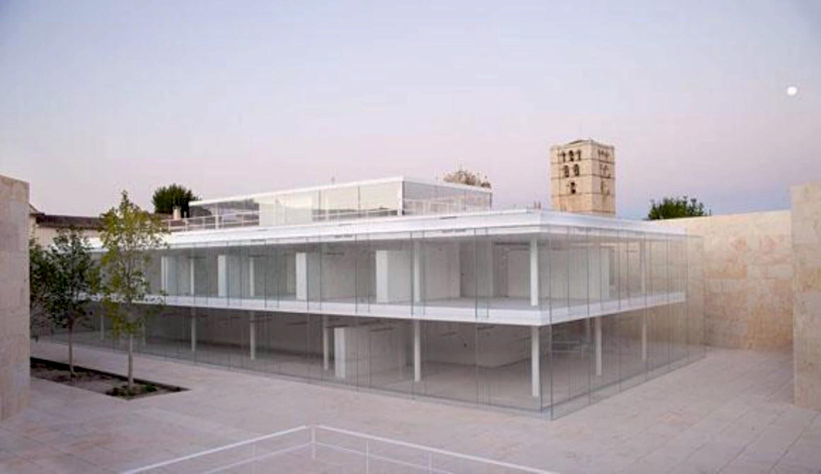 Offices for junta de castilla y leon by alberto campo baeza for Oficina turismo castilla y leon