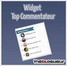 Widget Top Commentateur