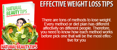 Effective Weight Loss Tips